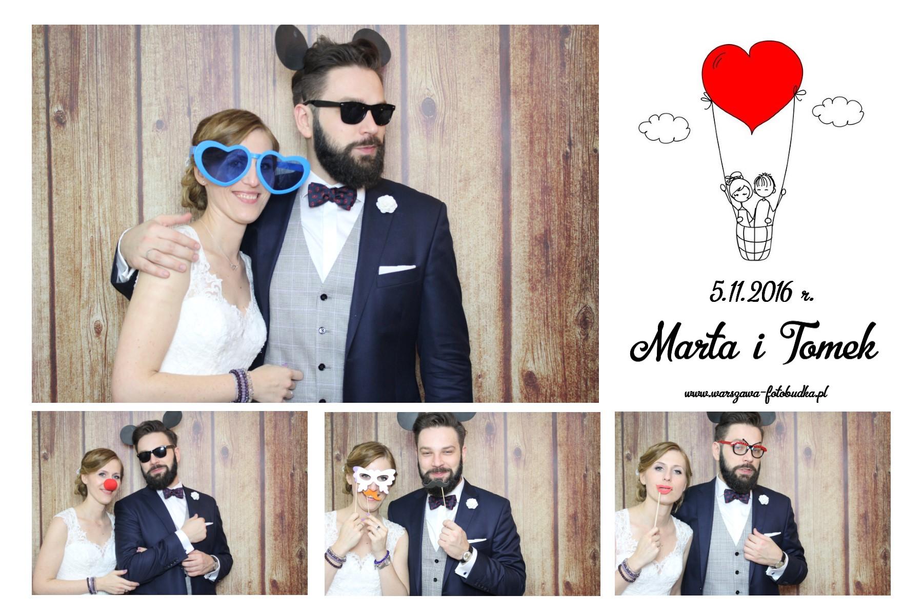 zdjęcie z fotobudki na weslee