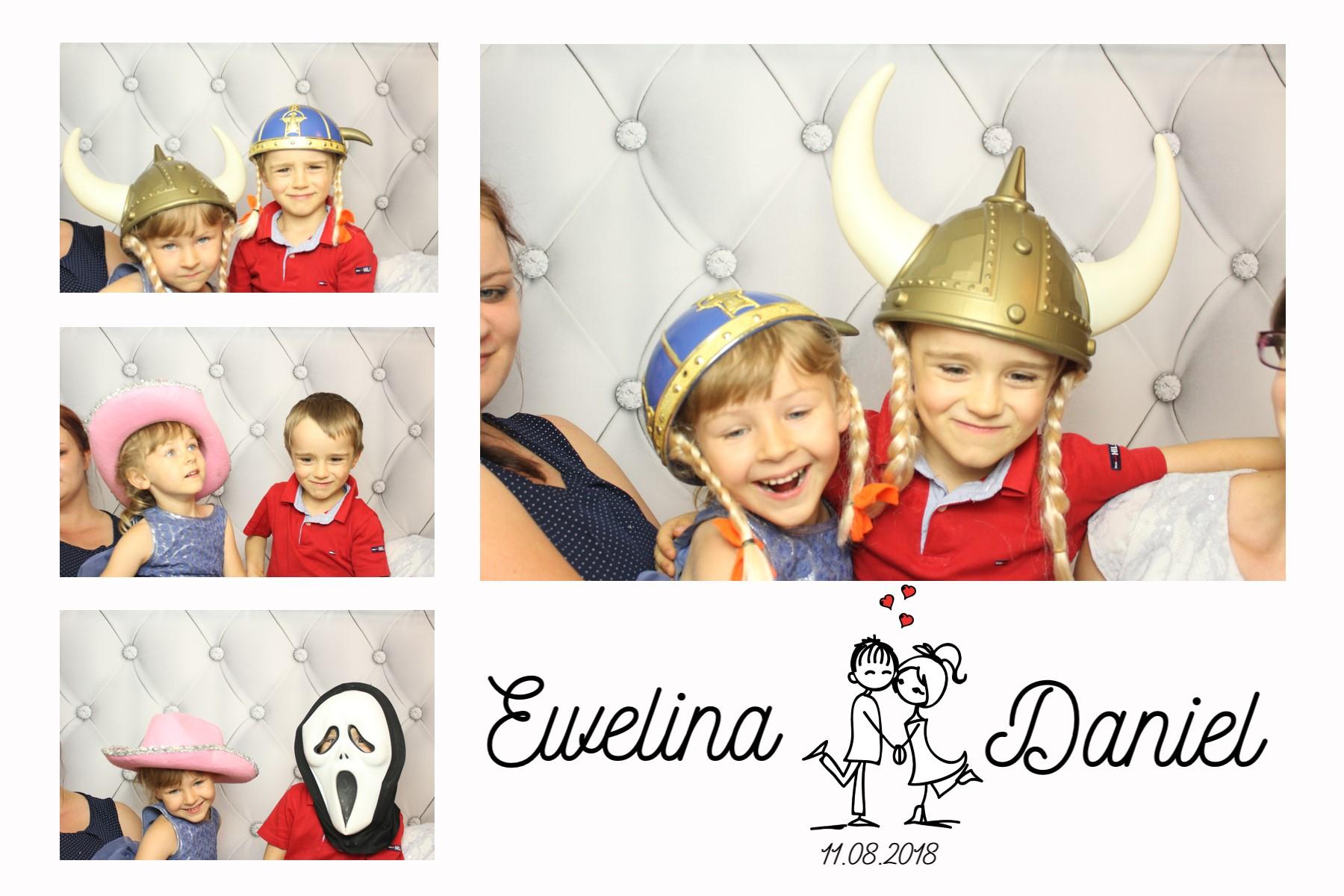 zdjęcie z fotobudki dla dzieci