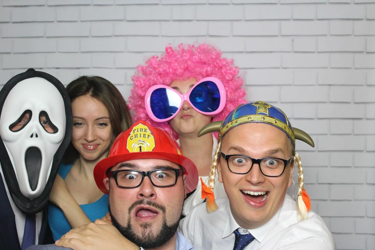 zdjęcie z fotobudki z wesela