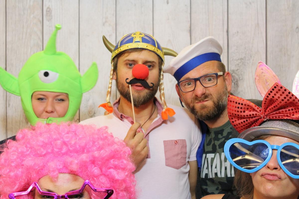 zdjęcie z fotobudki na imprezę