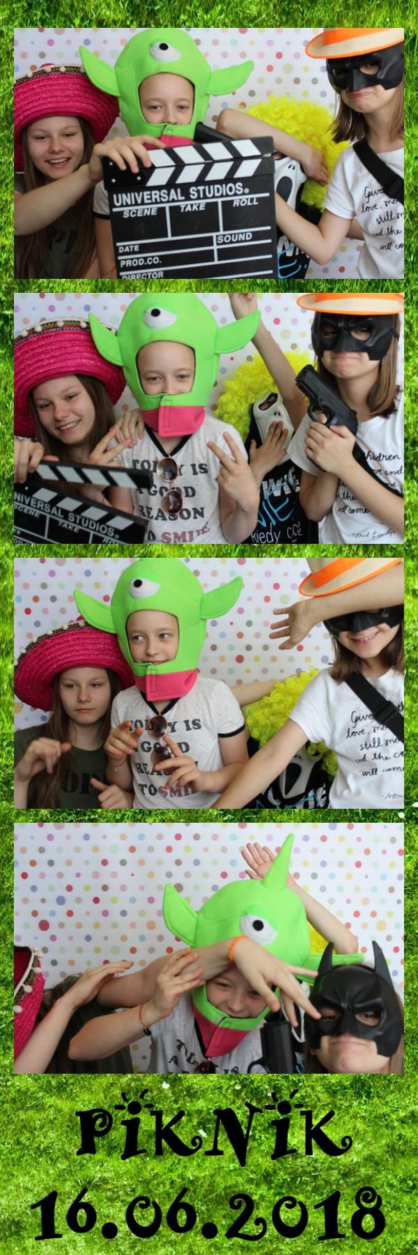 wydruk zdjęcia - fotobudka dla dzieci