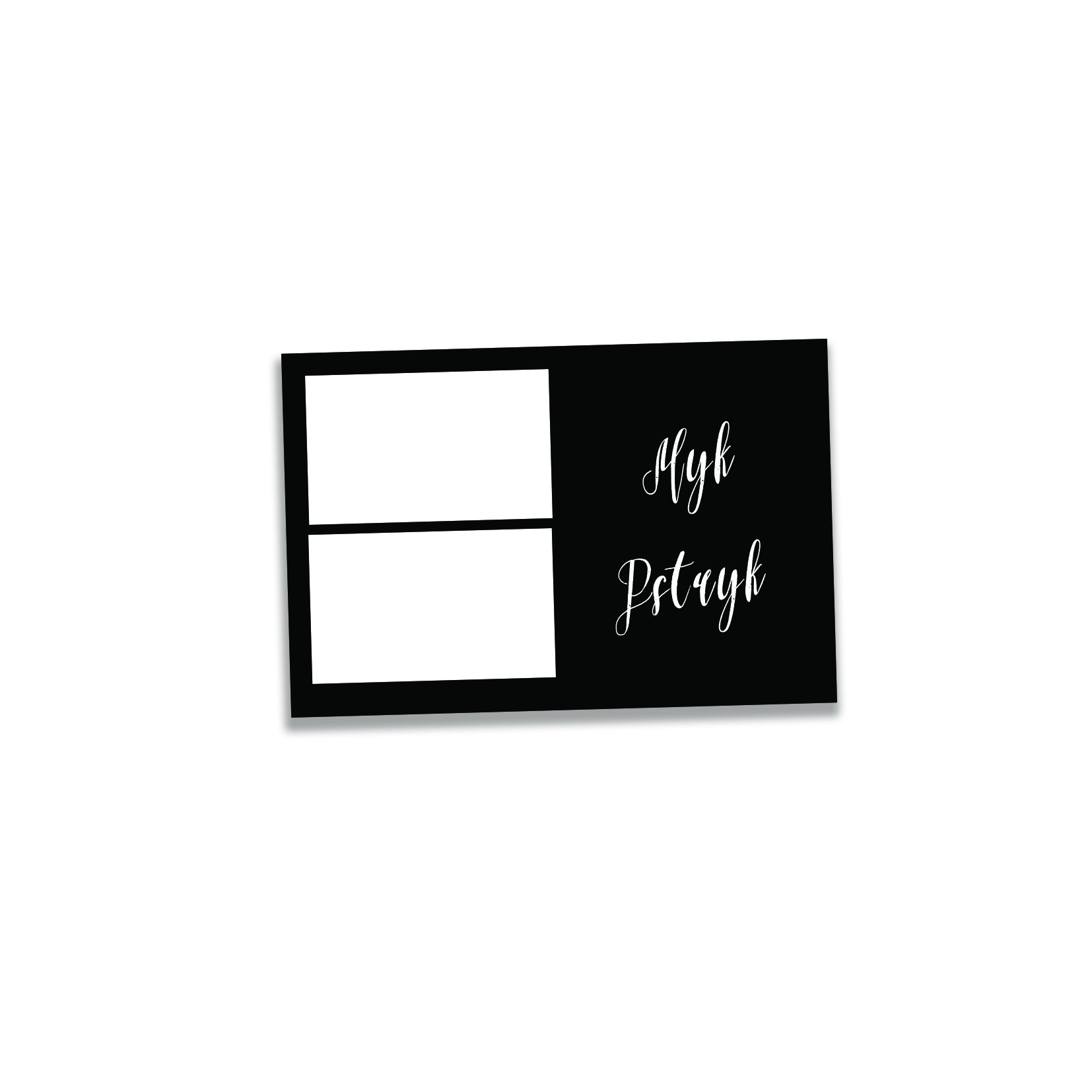 ramka wydruk na zdjęcia z fotobudki